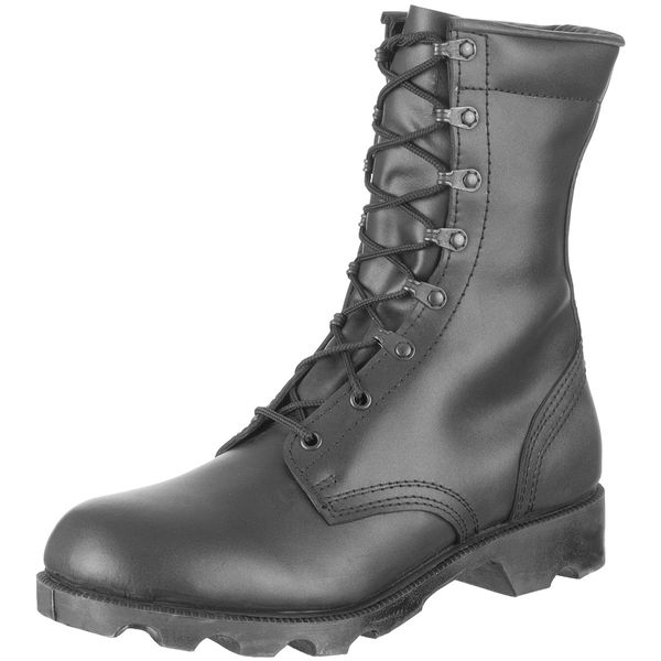 Black boots, basic issue style New