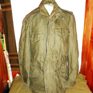 M-1951 Field Jacket, Original, date 1952 size Small long