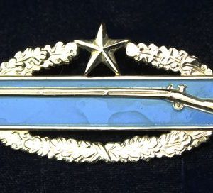 US Army Combat Infantry Badge - Two Wars - Star
