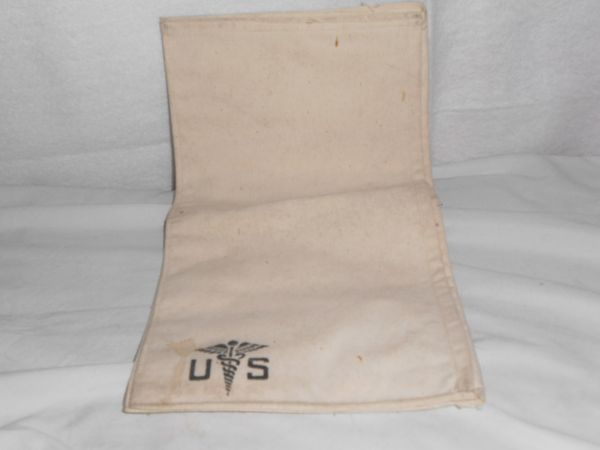 WW2 Hospital personal effects bag